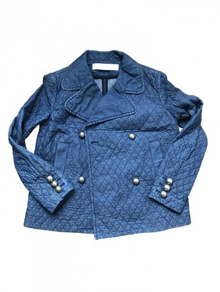 See by Chloe Blue Cotton Jackets