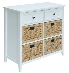 ACME Furniture Flavius 6 Drawer Accent Chest Color: Bright White