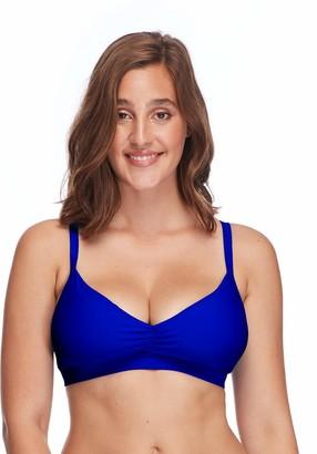 Body Glove Women's Smoothies Drew Solid D DD E Bikini Top Swimsuit