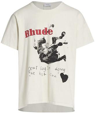 Rhude Falling Horse T-Shirt