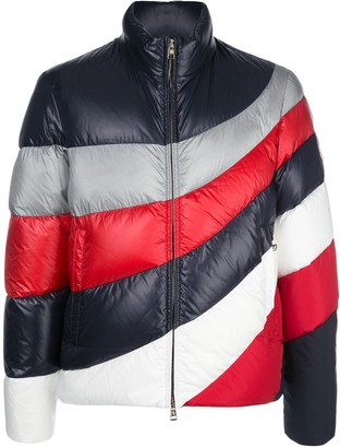 Moncler Padded Colour Blocked Jacket