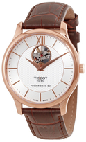 Tissot T-Classic Tradition Automatic Silver Dial Men's Watch, 40mm