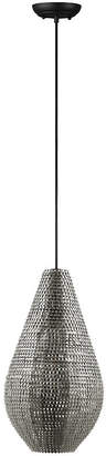 "Walker Edison 20"" Hand-Crafted Drop Style Sparkle Pendant - Nickel"