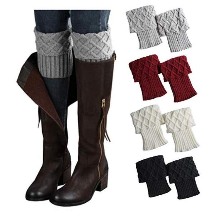 6d42d63f4 Knitted Boot Warmers - ShopStyle Canada