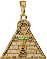 Summit Ankh Pyramid Pendant Collectible Medallion Necklace Accessory Jewelry