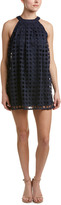 Romeo & Juliet Couture Pleated Lace Shift Dress
