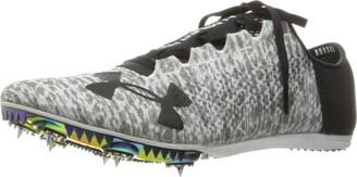 Under Armour Unisex-Adult Speedform Miler Pro Athletic Shoe White (100)/Black 10