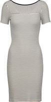 Kain Label Pryor striped ribbed modal-blend mini dress