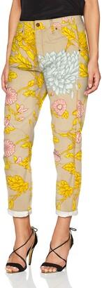 G Star Women's 5622 3D Mid Waist Boyfriend Colored Jeans