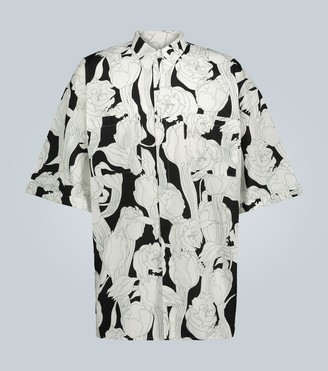 Givenchy Oversized short-sleeved shirt