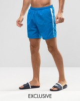 HUGO BOSS BOSS By Seabream Swim Shorts In Blue