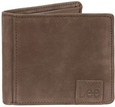 Lee Men's RFID-Blocking Nubuck Leather Bifold Wallet