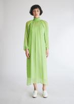 Mara Hoffman Women's Edmonia Dress in Lime, Size Small