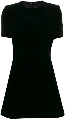 Saint Laurent Mini Flared Dress