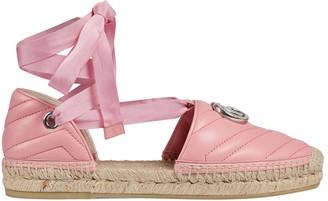 Gucci Women's matelasse espadrille sandal