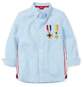Boy's Mini Boden Bonaparte Shirt
