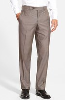Ted Baker Men's 'Jefferson' Flat Front Wool Trousers