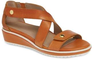 Bettye Muller CONCEPTS Tobi Leather Wedge Sandal