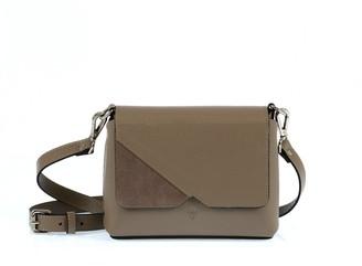 Hiva Atelier Mini Mare Leather Bag Sand & Sand Suede