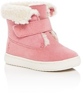 Ralph Lauren Girls' Shearling Booties - Walker