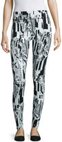 MIXIT Mixit Electric Avenue Print Knit Leggings