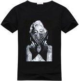 DIYgarment Marilyn Monroe 1 Design Custom Women's Short Sleeve O-neck T-shirt