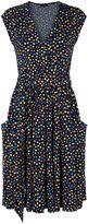 House of Fraser HotSquash Knee Lengh dress with false belt