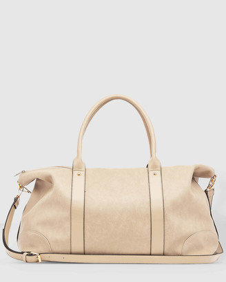 Louenhide - Women's Nude Weekender - Alexis Weekender Bag - Size One Size at The Iconic