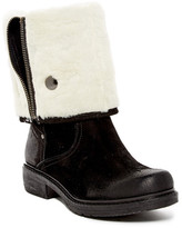 Manas Design Faux Fur Lined Zip Boot