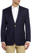 Lauren Ralph Lauren Navy Two-Button Wool Sport Coat