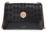Ted Baker Leather Crossbody Bag - Black