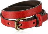 "Frye Unisex Stud Soft Vintage Leather Wrap Cuff Bracelet, 13.25"" + 4.5"" Extender"