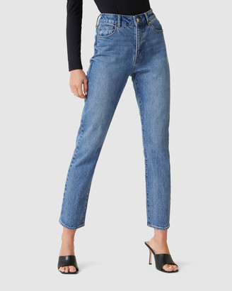 Forever New Isabel Mid Rise Straight Jeans