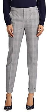 Ralph Lauren Ralph Glen Plaid Straight Leg Pants