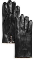 Paul Smith Multi Stripe Leather Gloves