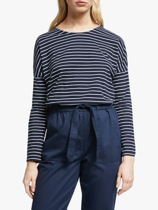 People Tree Nerissa Stripe Top, Multi