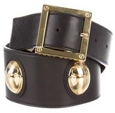 Tory Burch Leather Ladybug Embellished Waist Belt w/ Tags
