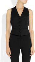 Yves Saint Laurent Wool tuxedo vest
