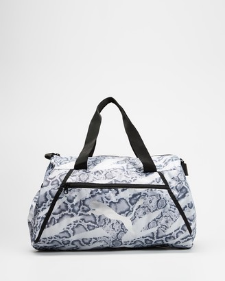 Puma Women's White Duffle Bags - Essentials Barrel Bag - Size One Size, 27 at The Iconic
