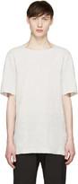 Attachment Grey Linen T-Shirt