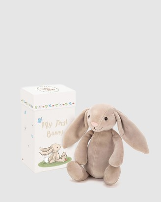 Jellycat Grey Animals My First Bunny - Size One Size at The Iconic
