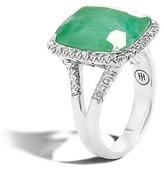 John Hardy Women's Classic Chain Gemstone Ring