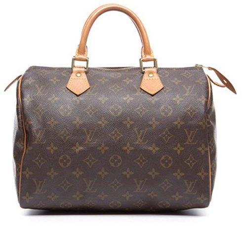 Louis Vuitton Pre-Owned Monogram Canvas Speedy 30 Bag