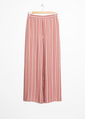 And other stories Wide Striped Trousers