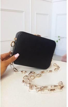IKRUSH Nic Faux Leather Box Clutch Bag