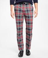 Brooks Brothers Clark Fit Stewart Tartan Chinos