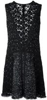 Giambattista Valli v-neck dress - women - Silk/Cotton/Polyamide/Virgin Wool - 44