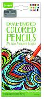 Crayola Colored Pencils, Dual-Ended - 12ct
