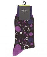 Oliver Sweeney Weisz Purple Socks
