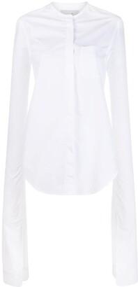 Coperni extra long sleeves shirt